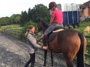 Horse riding lessons Sussex, Surrey, Kent from Amelia Wilbourn